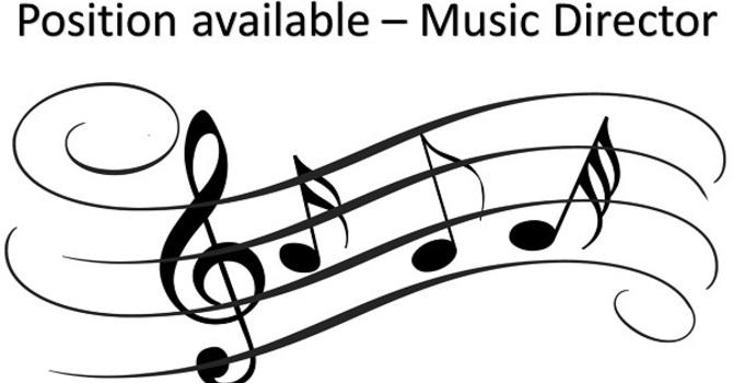 Job Posting: Music Director
