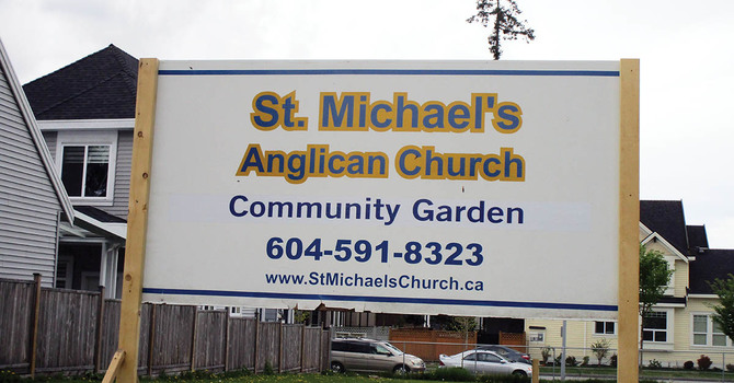 Community Garden for St. Michael's image
