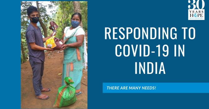 Responding to COVID-19 in India image