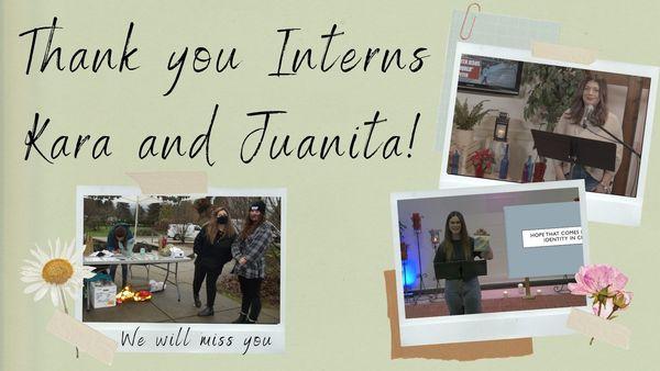 Thank You Interns!