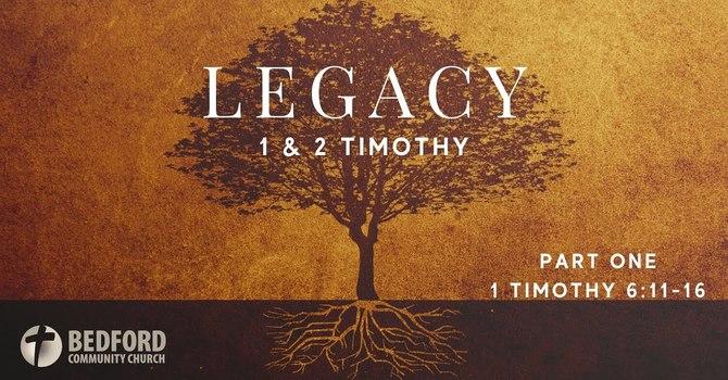 Legacy: Part 1