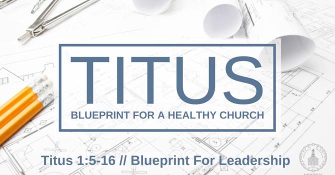 Blueprint for Leadership