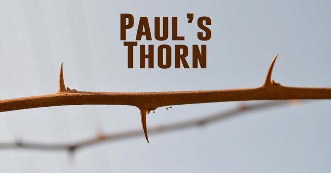 """""""Paul's Thorn"""""""