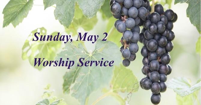 Sunday, May 2 Worship Service image