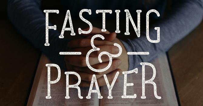 Fasting and Prayer image