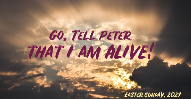 """""""Go, Tell Peter that I am ALIVE!"""""""