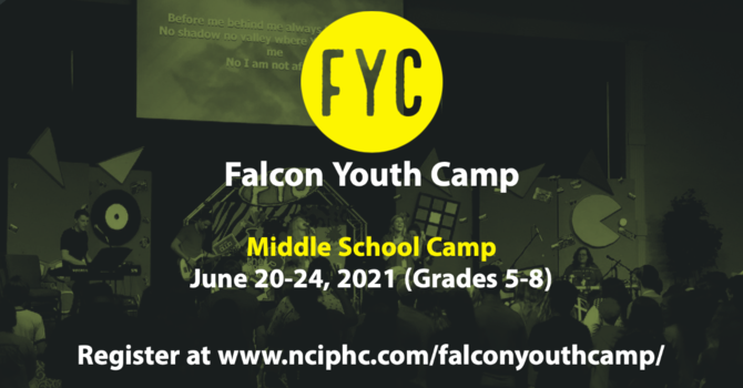 Falcon Youth Camp-Middle School Camp