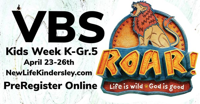 "VBS Kids Week ""ROAR!"""