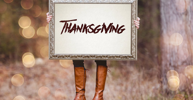 Be Thankful!  image