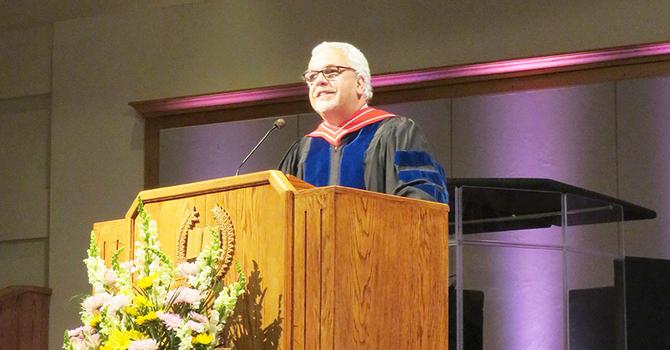 Archbishop delivers commencement image