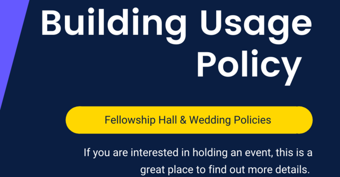Building Usage Policy image