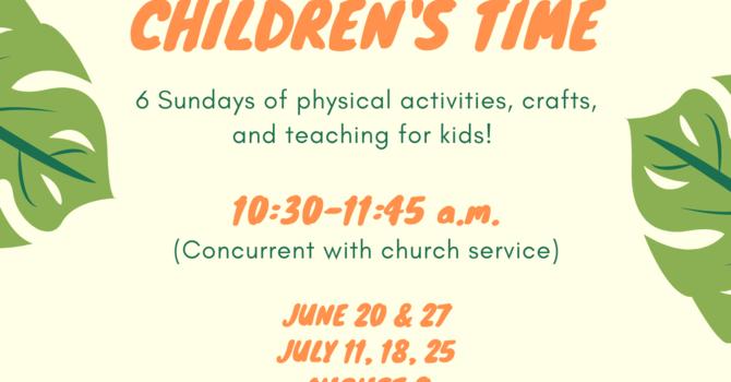 Summer Children's Time