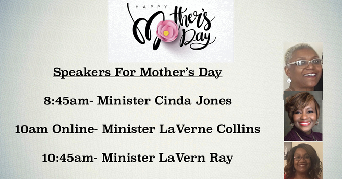Mother's Day Speakers image