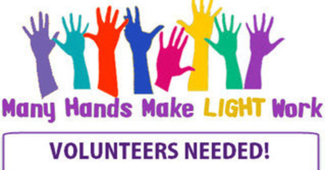 Worship Assistants and Ministry Volunteers Needed! image