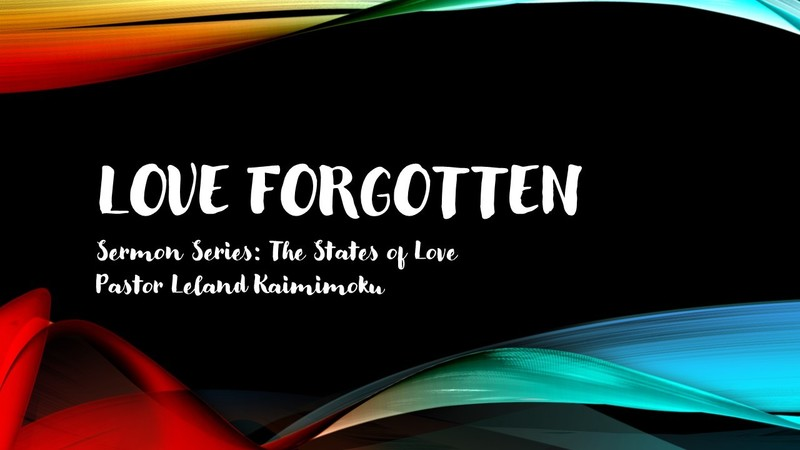 Love Forgotten: The States of Love