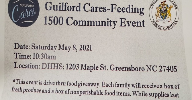 Guilford Cares - Feeding image