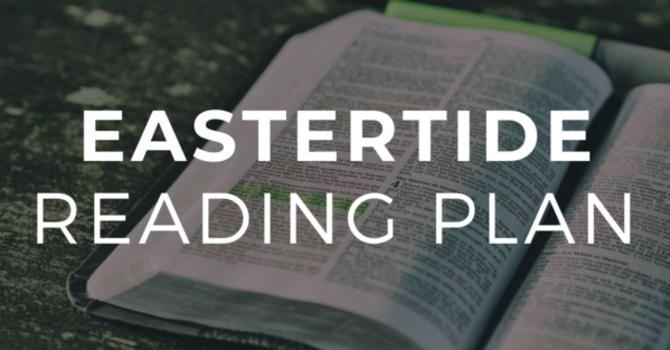 Eastertide Bible Reading Plan image