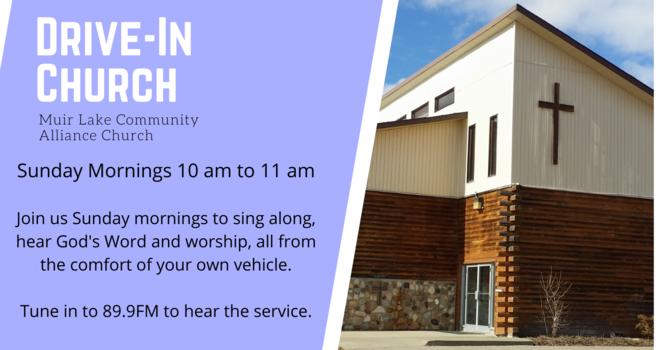 Sunday Morning Drive-In Church