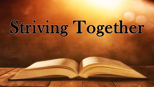 Striving Together