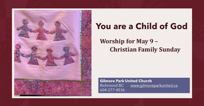 YOU ARE A CHILD OF GOD image