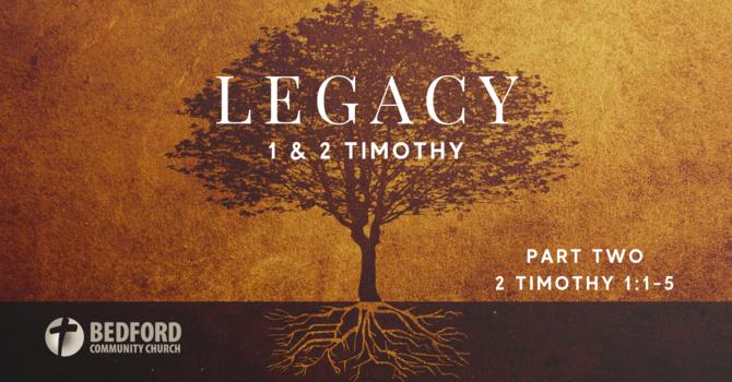 Legacy : Part 2