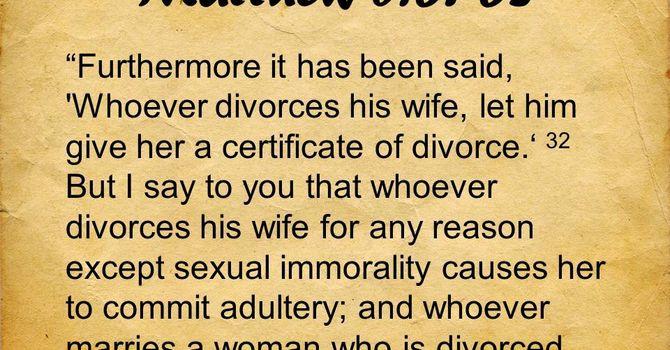 Is Divorce an Option?