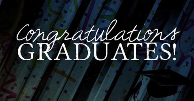 Congratulations Graduates image