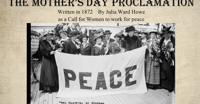 The Mother's Day Proclamation image