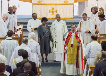 Rev. Vernon's Ordination