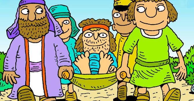 Lesson 3: Jesus Heals a Paralyzed Man image
