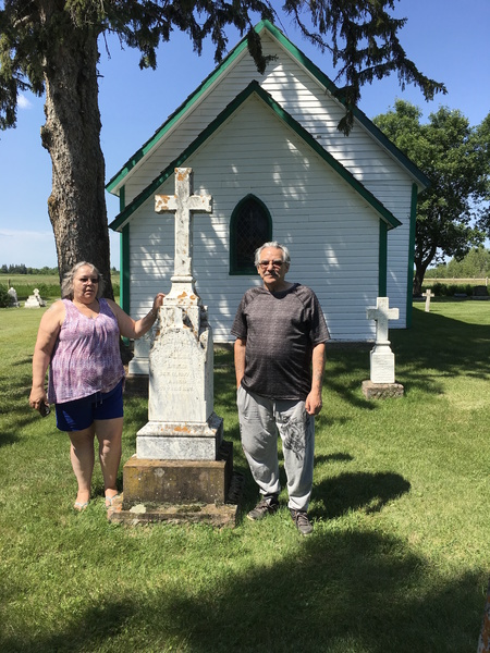 Great-grandson of Bp. McLean visits Diocese