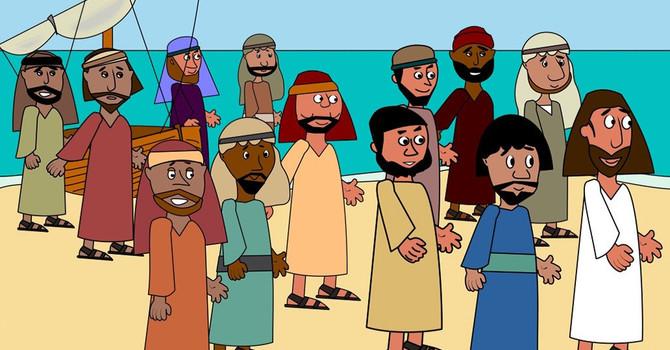 Lesson 4: Jesus Feeds 5,000 people image
