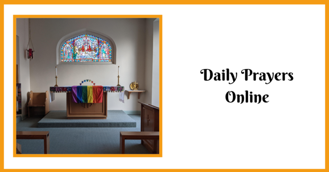 Daily Prayers for Wednesday, May 12, 2021
