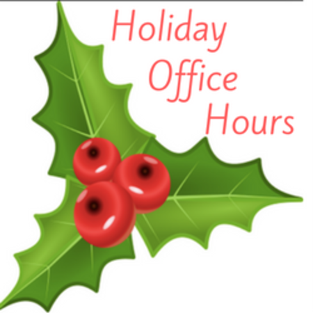 Office Holiday Hours