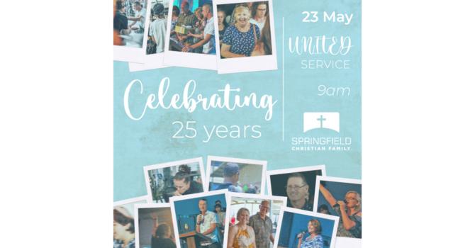 Celebrating 25 years! image