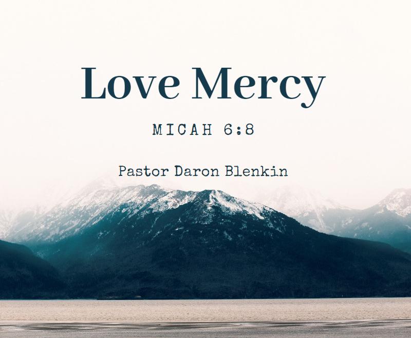 Love Mercy