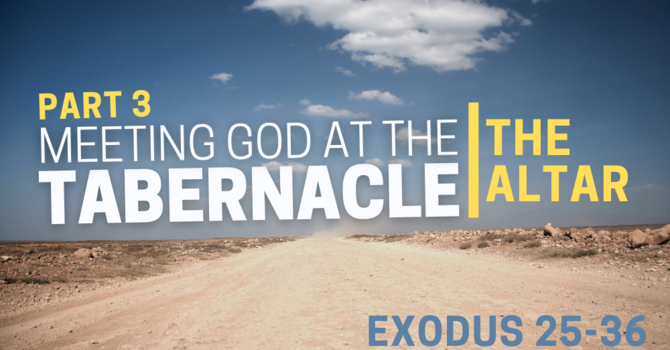 Meeting God At The Tabernacle  image