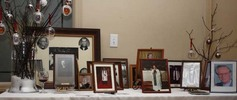 Memorabilia table