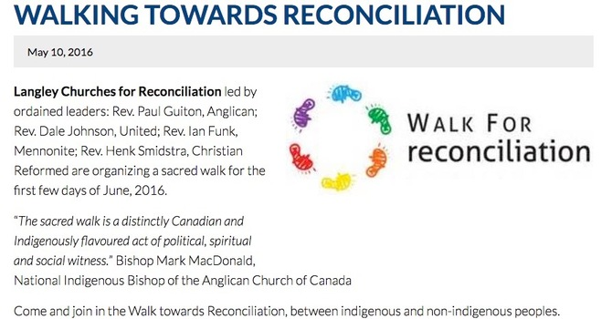 Walking towards reconciliation image