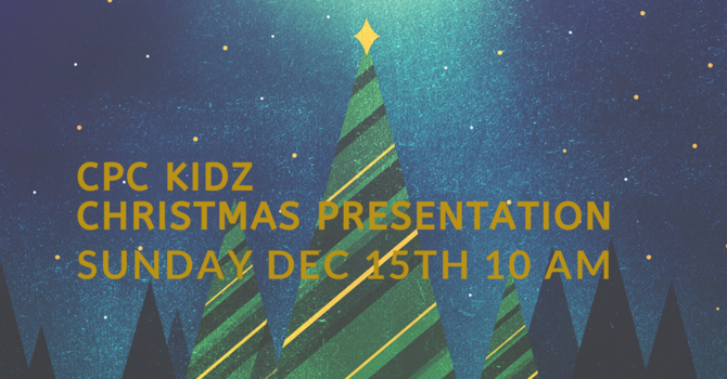 CPC Kidz Christmas Presentation