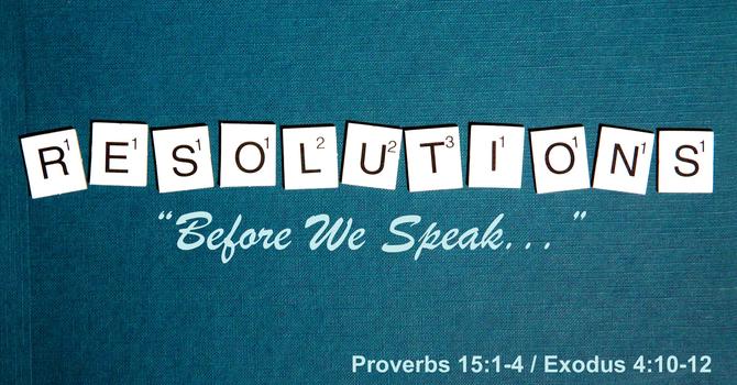Before We Speak...