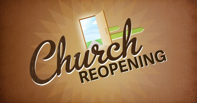 Church Reopening -Register for Service