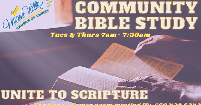 Tuesday Community Bible Study