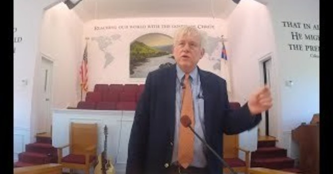 Live Stream - Pastor Tim - 5-16-2021