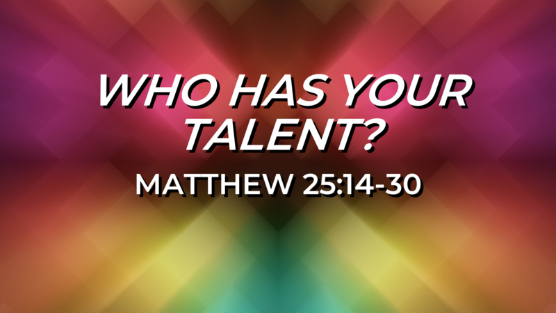 Who Has Your Talent?