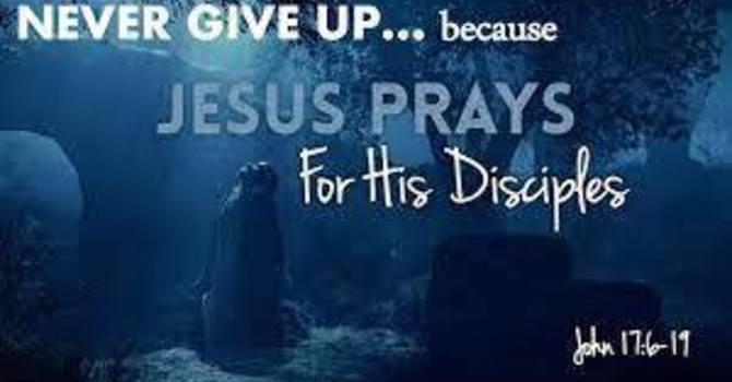 Gospel of John 17: 6-19 image
