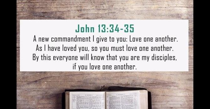 Love as Jesus Loved
