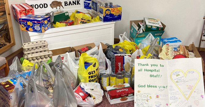 WE Shares Blessings with Wainwright Battle River Food Bank image