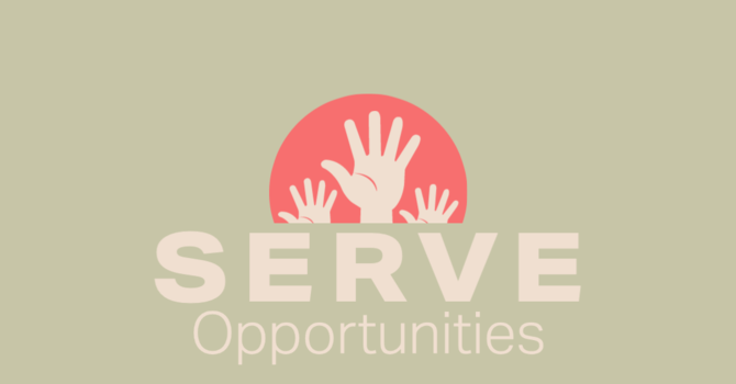 Serve Opportunities  image