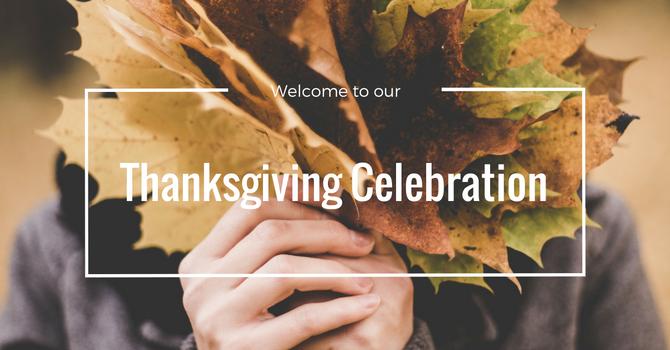 Thanksgiving Celebration Service